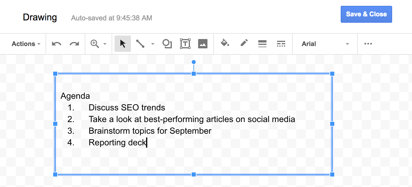 Image result for How to Insert a Textbox in Google Docs