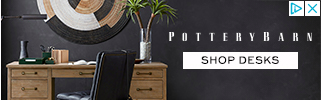 Banner ad for Pottery Barn