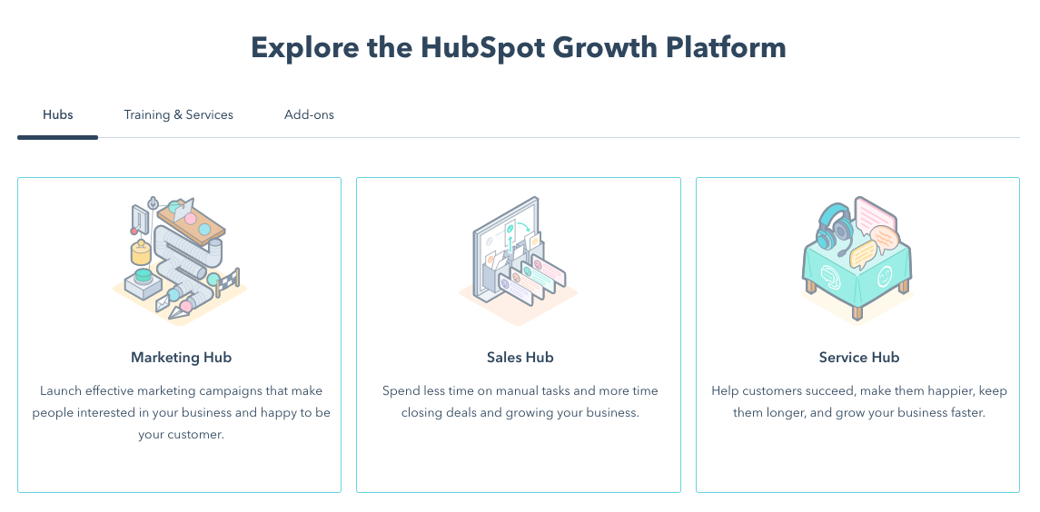 hubspot crm homepage demo