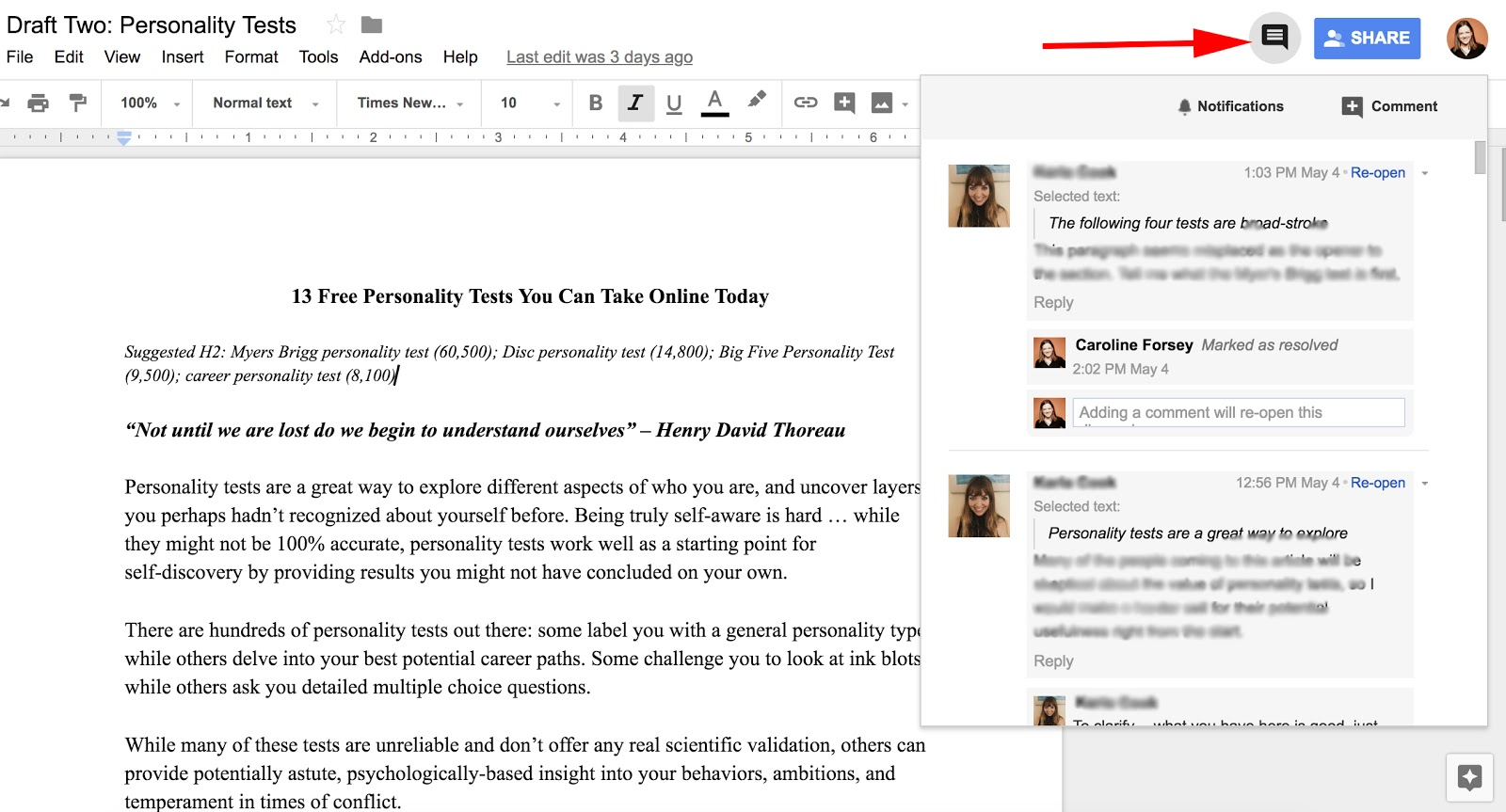 How to Track Changes in Google Docs [FAQ]