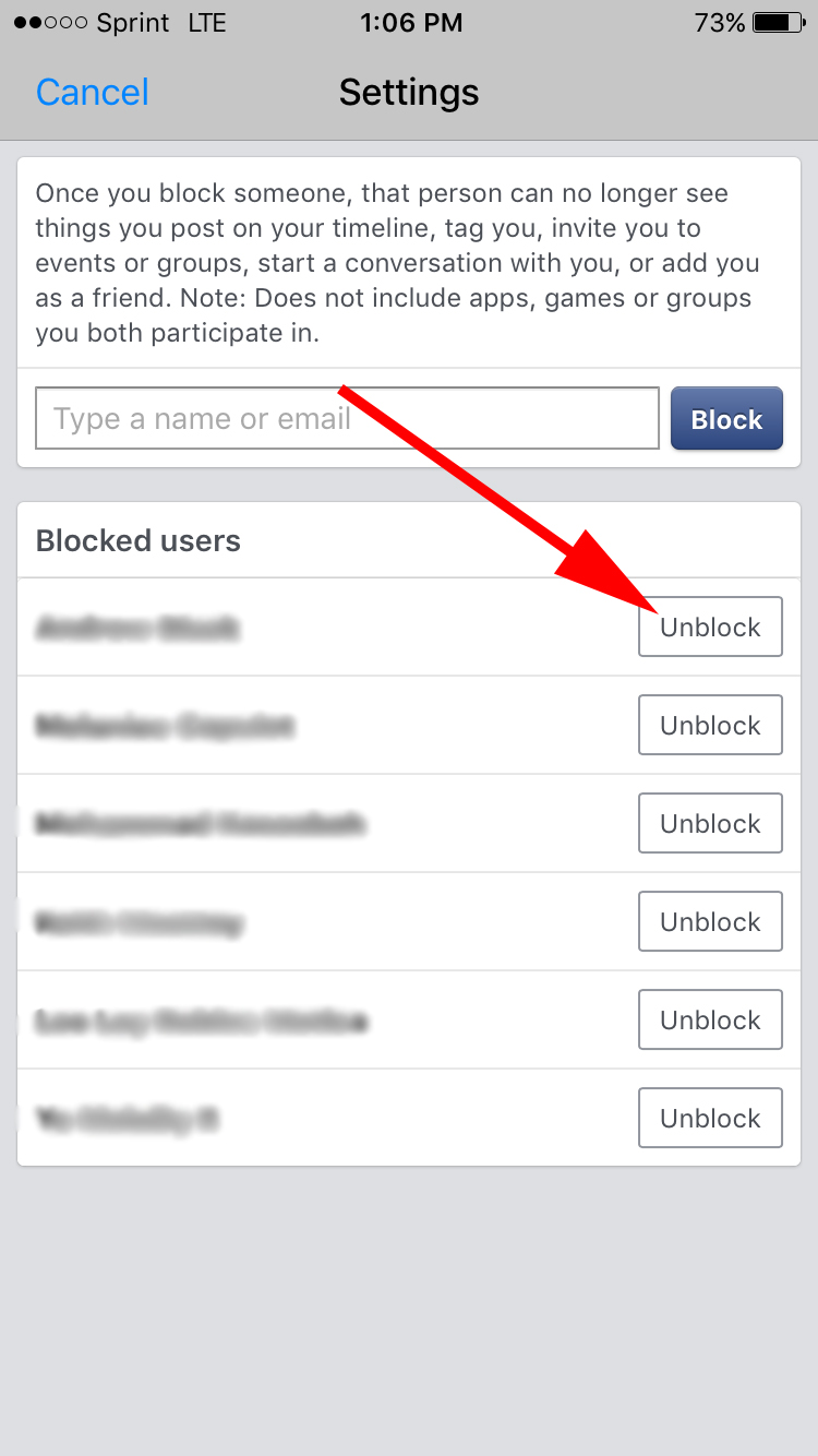 How to Unblock Someone on Facebook and Messenger [FAQ]