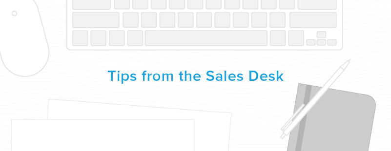 tips from the sales desk at hubspot