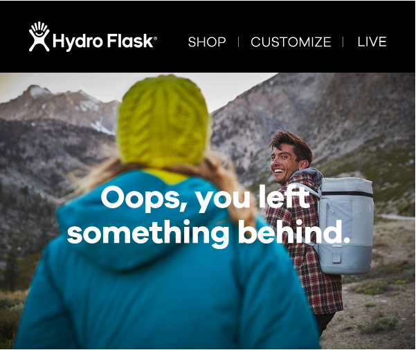 Hydro Flask Cart Abandonment email