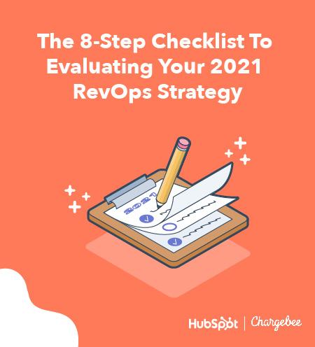 revenue operations checklist