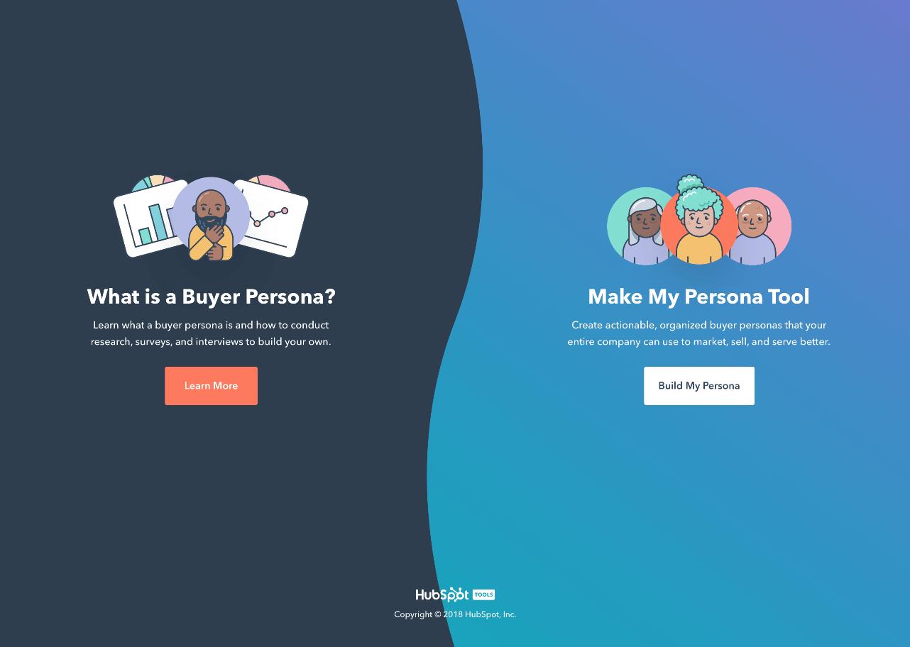 Make My Persona Options