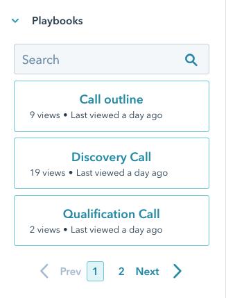 Screenshot of the right-hand sidebar