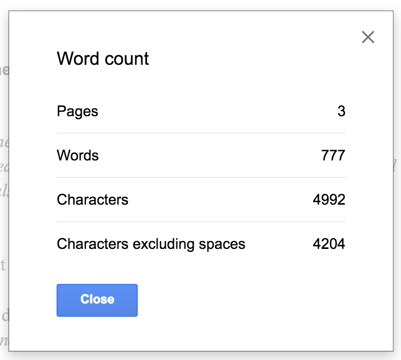 how to see word count in google docs faq orlando web services