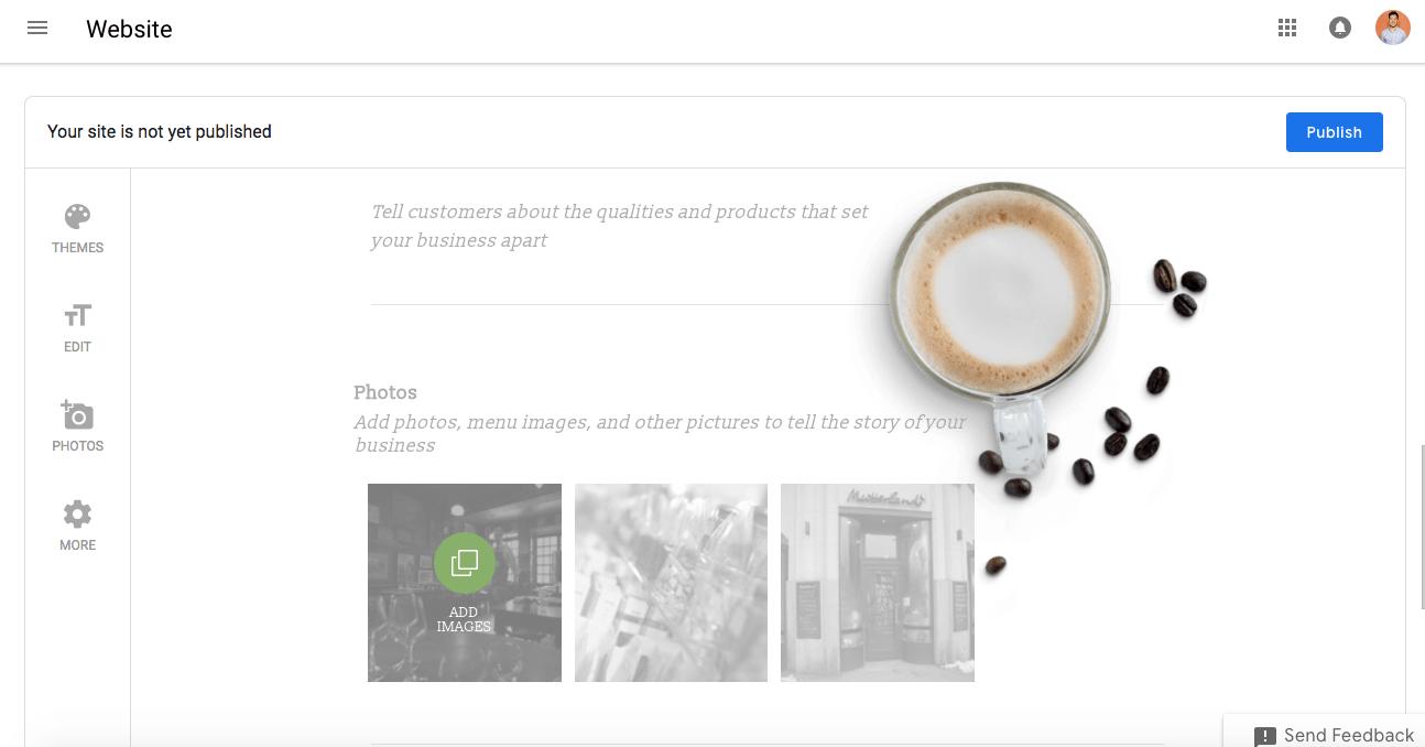 Integra elemento en el diseño de tu web con Google Sites