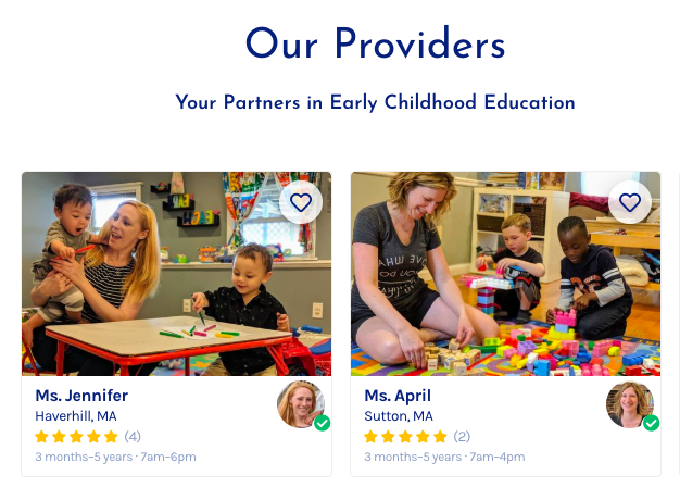 NeighborSchool website page.