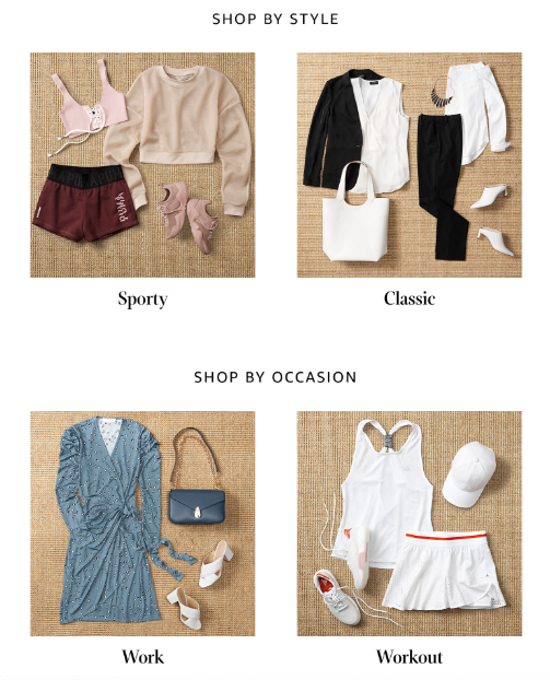Prime Wardrobe example