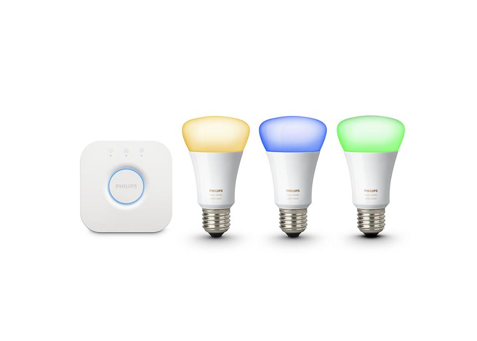 Philips Hue lightbulbs as the best smart home lightbulb