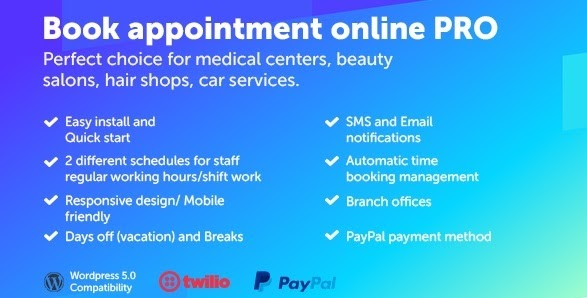 Book appointment online PRO