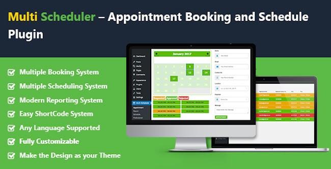 Multi Scheduler Multi Booking Plugin
