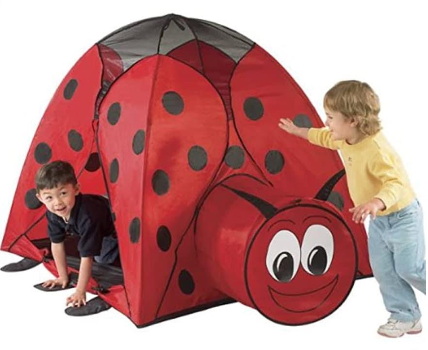 Customer service qualities tent