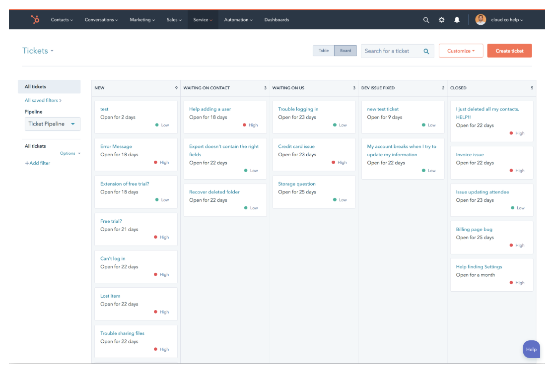 HubSpot-Issue-Tracking