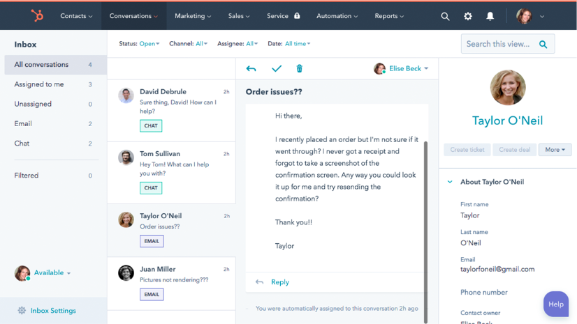 HubSpot-Shared-Inbox