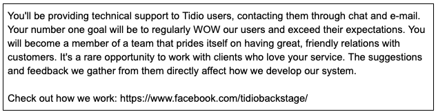 Tidio-Customer-Support-specialist