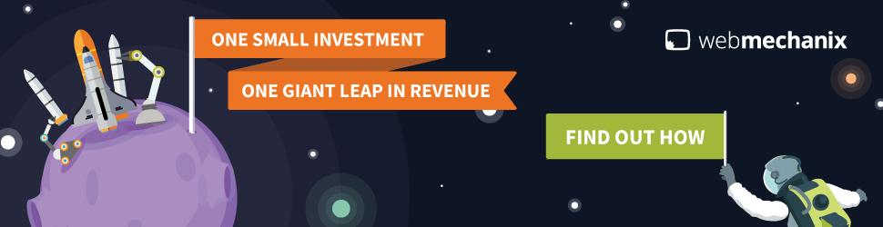 Example of a banner advertisement from webmechanix