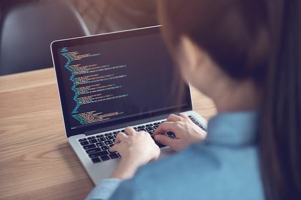 User displaying code on WordPress blog posts