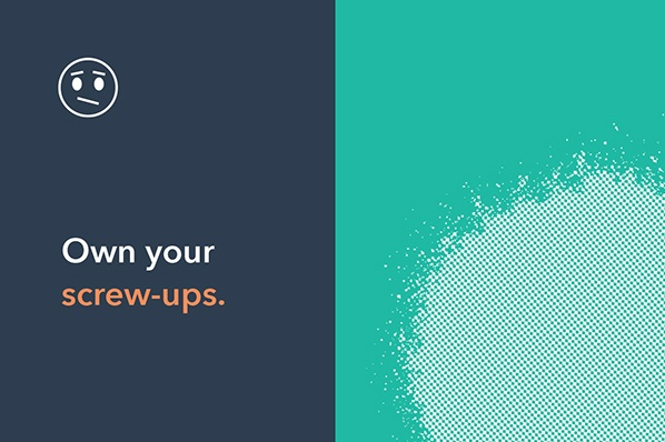 Own Your Screw-Ups [The Customer Code Series]