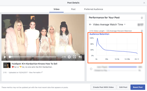 audience retention facebook.png  How to Understand Facebook Insights for Social Video audience 20retention 20facebook