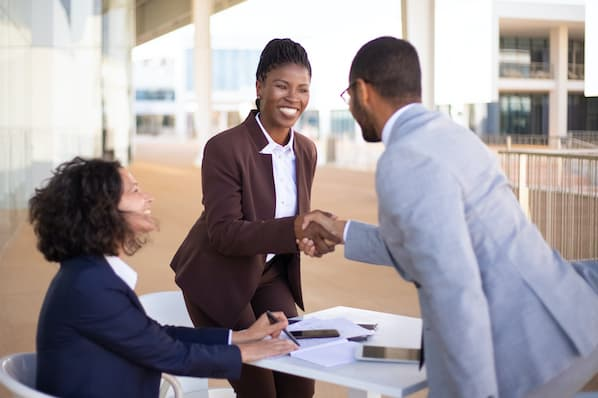 Woman gets promoted to managerial role after impressing leaders
