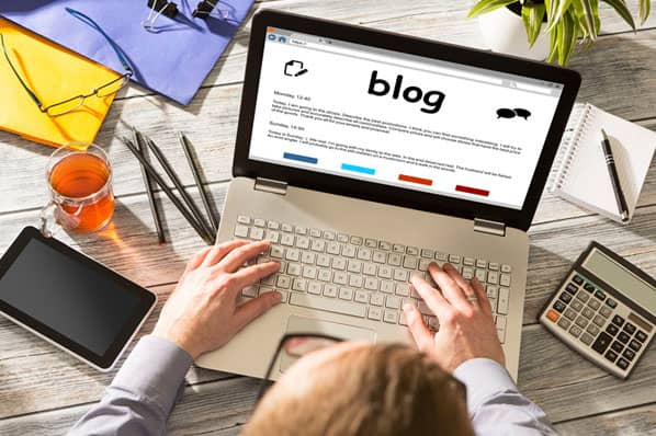 writing a blog article to earn money online