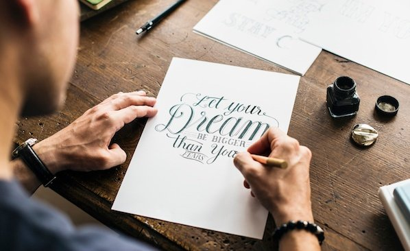 image about Printable Fonts for Signs known as 17 of the Least difficult Calligraphy Fonts By yourself Can Obtain for Cost-free