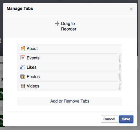 how to add custom tab to facebook page