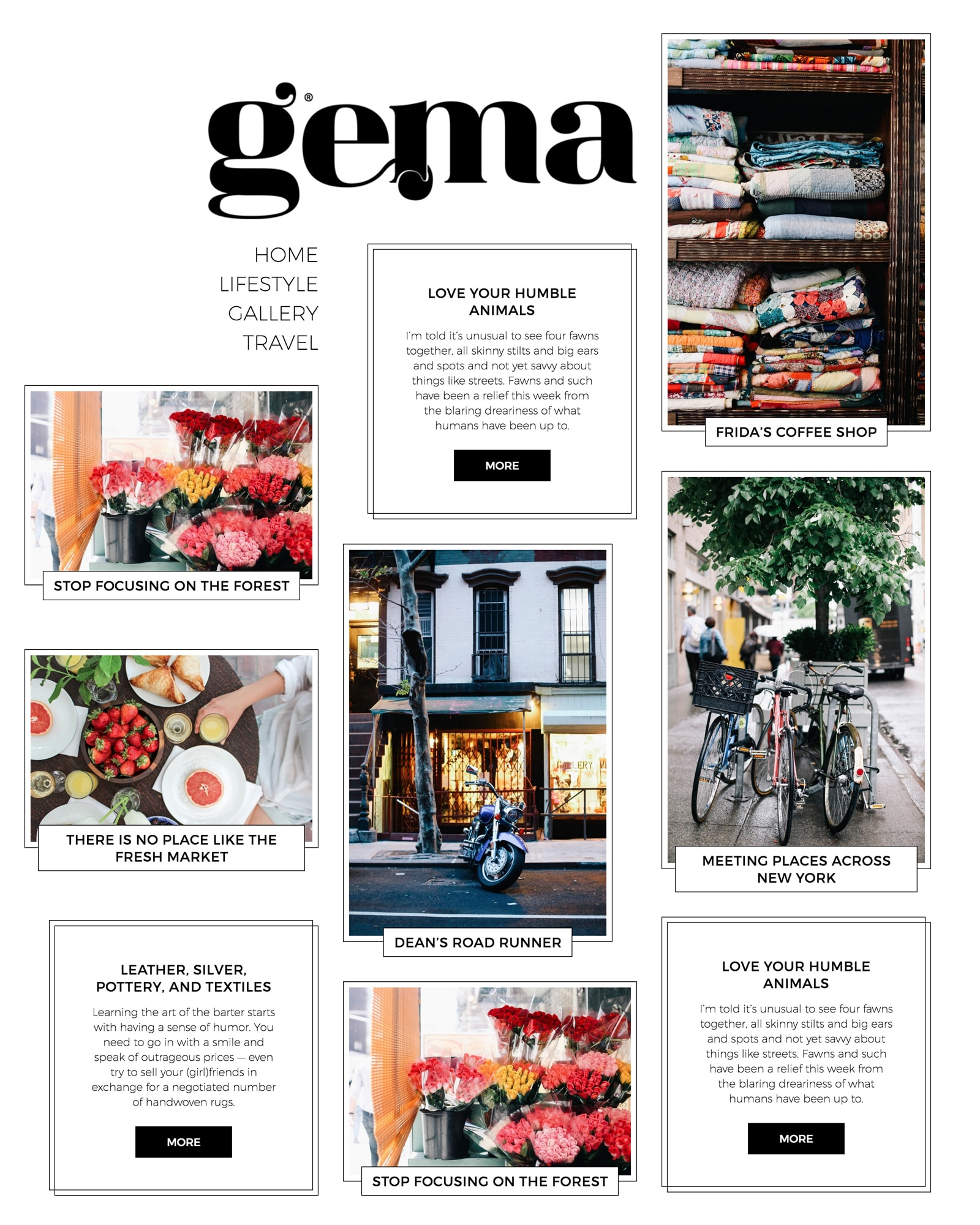 Gema-WordPress-theme