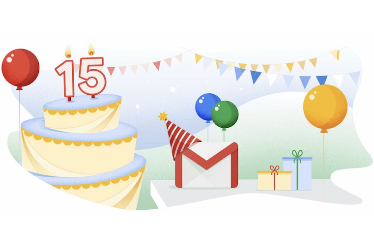 Happy Birthday Gmail: How Google Is Celebrating 15 Years of Email