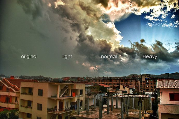 HDR Tools, a Photoshop filter action