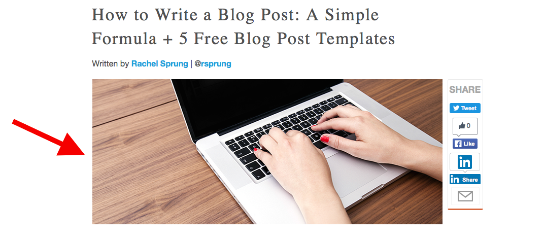 how to write a blog post a simple formula 5 free blog post templates. Black Bedroom Furniture Sets. Home Design Ideas