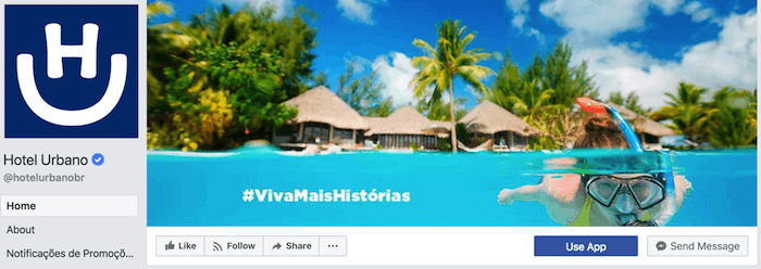 hotel urbano facebook cover photo