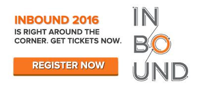 register for INBOUND 2016