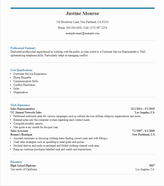 How to Write a Standout Customer Service Resume [Examples + ...