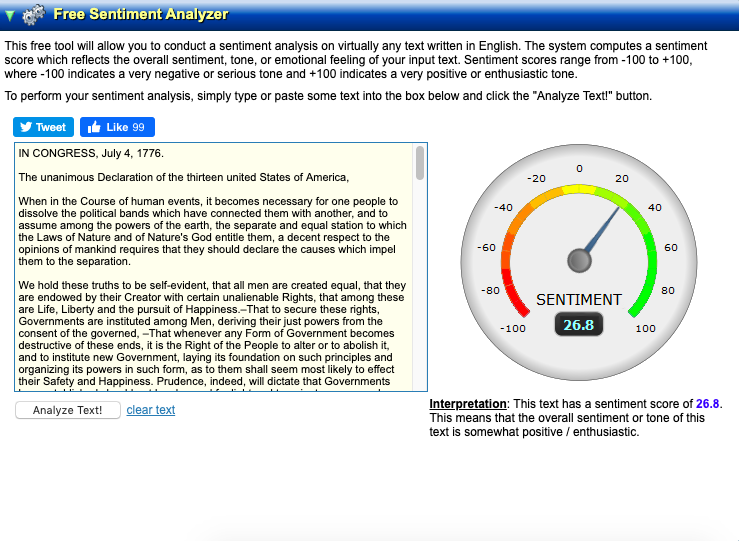 Sentiment-analyzer-tool