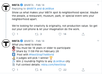 MBTA Valentine's Day Tweet fail