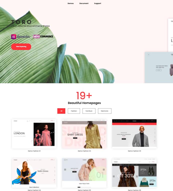 Toro-WordPress-theme