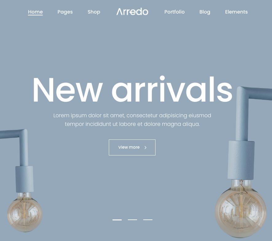 Arredo-WordPress-theme