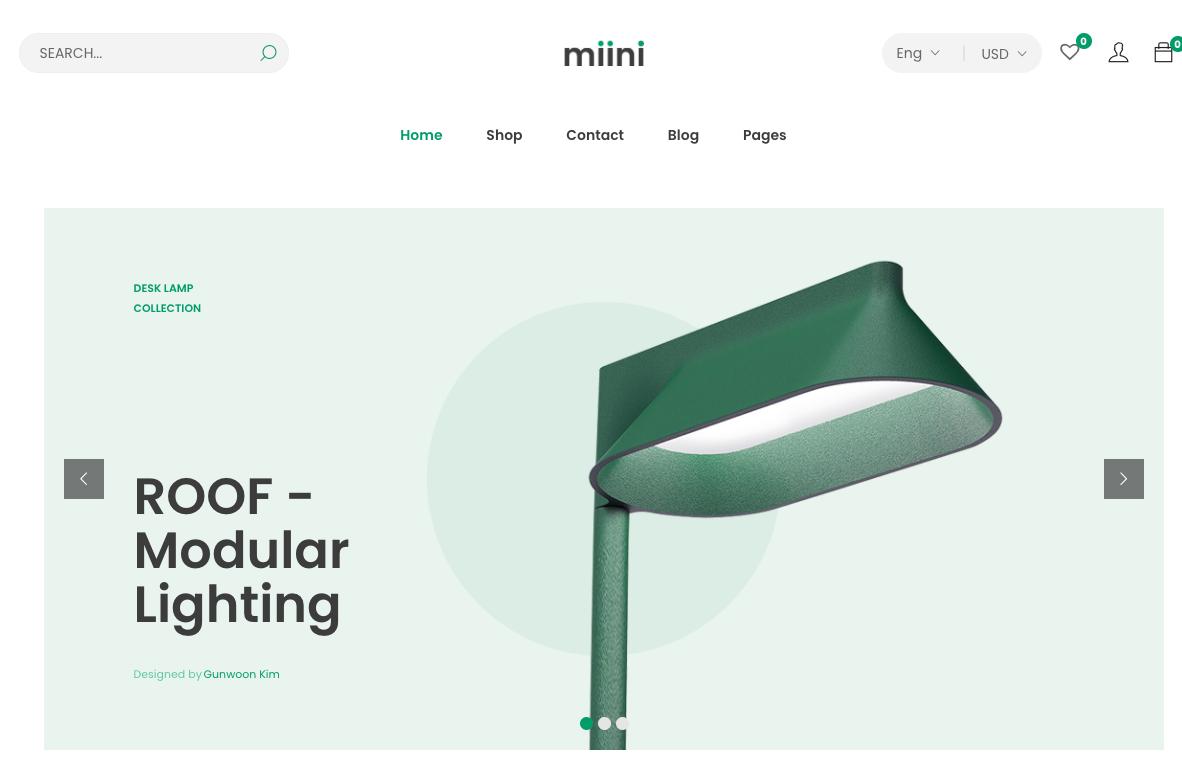 Miini-WordPress-theme