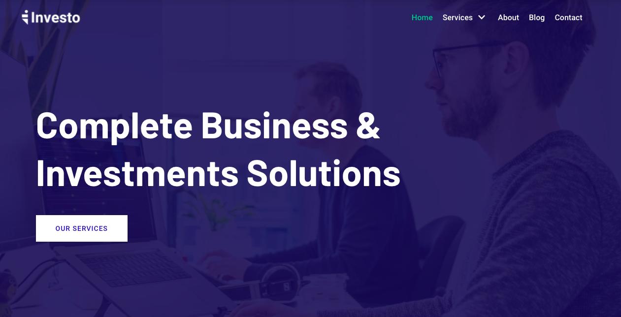 Neve WordPress theme for digital agencies