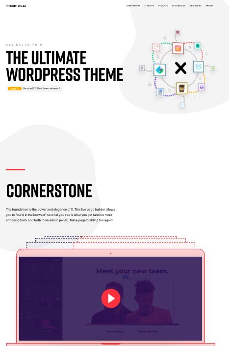 X-Wordpress-theme-mobile-apps