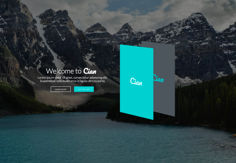 Cian-wordpress-theme for mobile apps