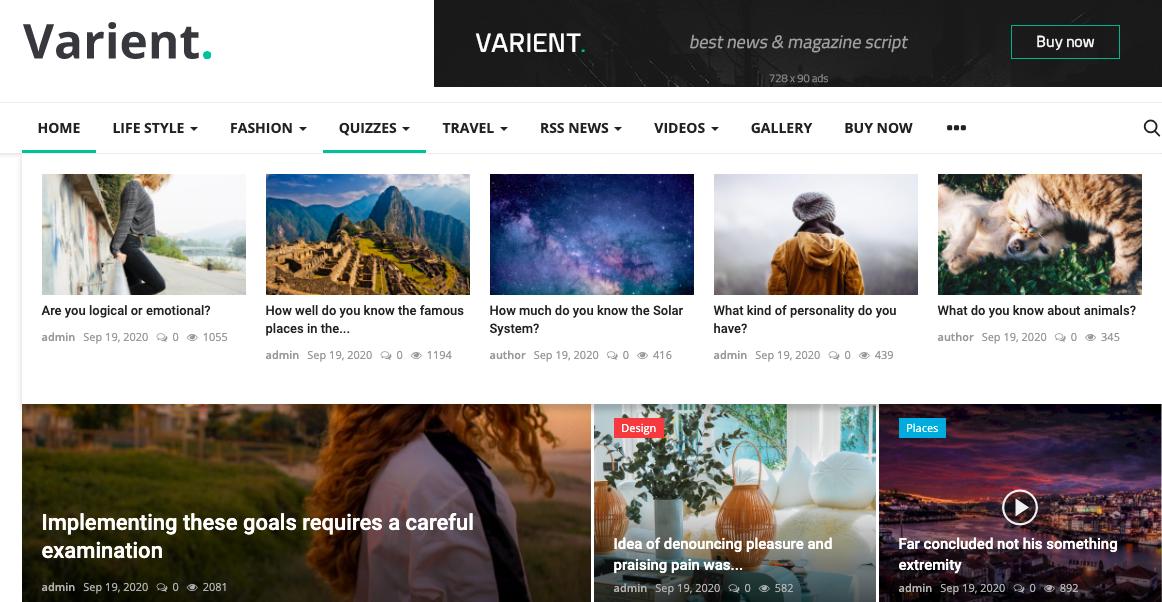 WordPress multi-author plugin - Varient
