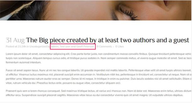 Author Box - Wordpress multi-author plugin