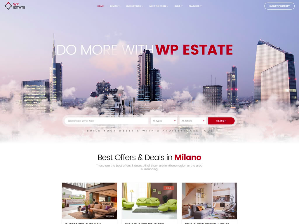WP Estate WordPress Theme