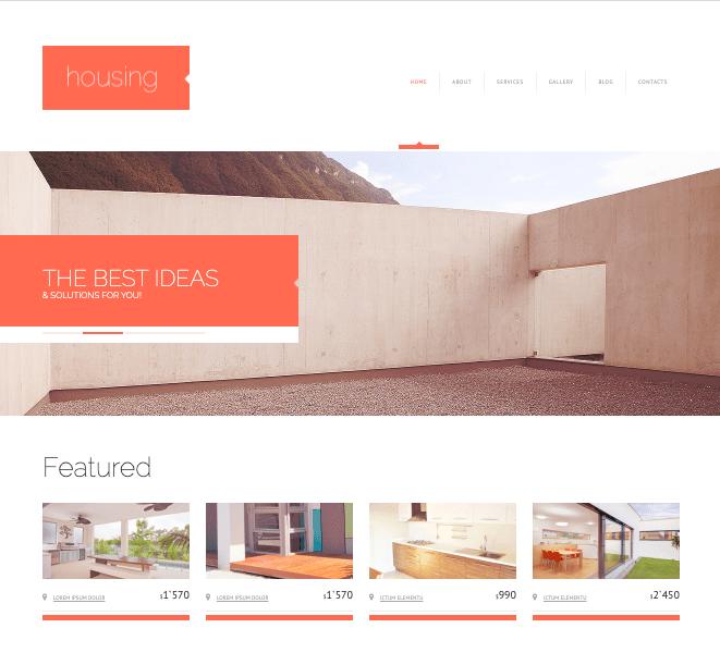 Housing Real EState wordpress theme