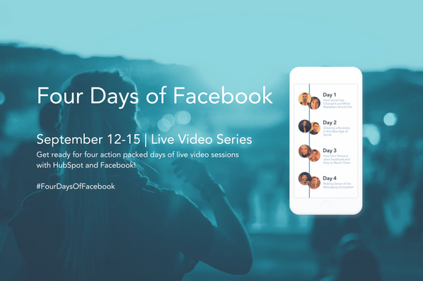 Four Days of Facebook: Learn How to Grow Your Facebook Audience Fast