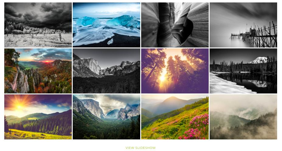 Display gallery of thumbnails via NextGen gallery plugin